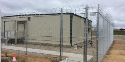 Example of a custom training facility from Integrated Modular Solutions